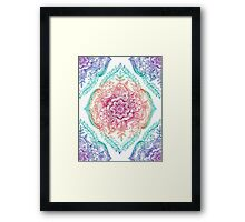 Indian Ink - Rainbow version Framed Print