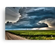 Colorado Supercell - Bartlett CO Canvas Print