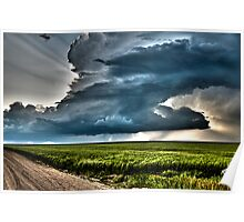 Colorado Supercell - Bartlett CO Poster
