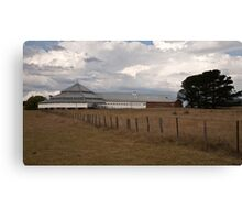 Deeargee Woolshed #1 Canvas Print
