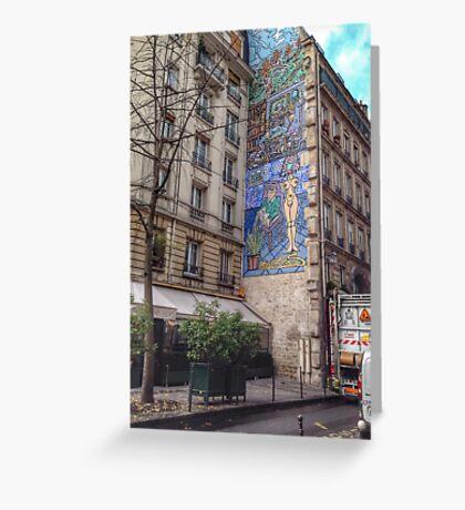 Urban artwork Greeting Card