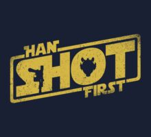 Han Shot First Baby Tee