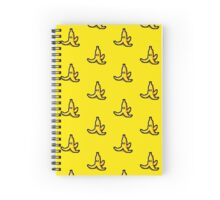 Pixel banana Spiral Notebook