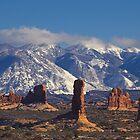 La Sal Mountains, Utah by Tamas Bakos
