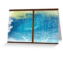 Have You Ever Seen The Rain? Greeting Card