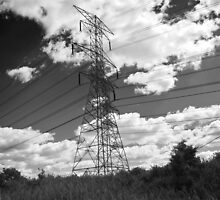 Great Power- b&w version by jmarie