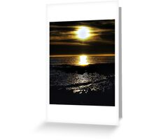 Winter Seascape Greeting Card