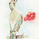 Wattle Bird by Katherine Appleby