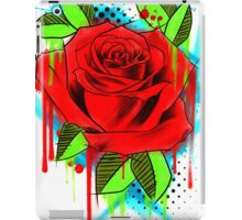 Water Color Rose iPad Case/Skin