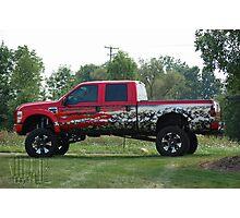 Mickey Thompson Crusher Truck Photographic Print