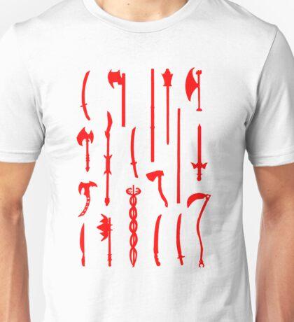 Path of the Ninja Weapons Unisex T-Shirt