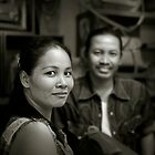 Thai couple by Laurent Hunziker