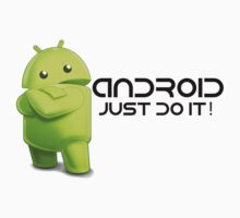 Android - Just do it! Kids Tee
