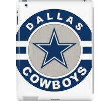 Dallas Cowboys logo 2 iPad Case/Skin