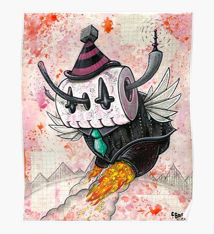 Skully Bot Poster