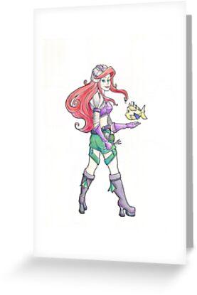 Steampunk Ariel by Karen  Hallion