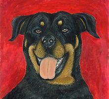Sammy the Rottweiler by AniaMMilo