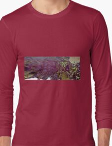 Abstract Fractal render Long Sleeve T-Shirt