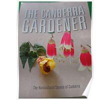 The Canberra Gardener Poster
