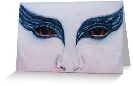 The Black Swan (detail) by Sukhwinder Flora