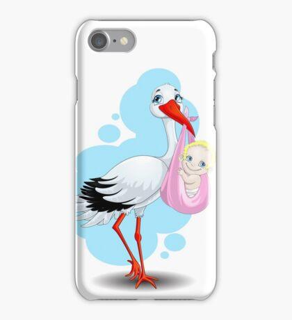 stork iPhone Case/Skin