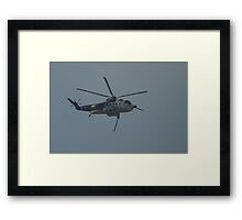 Sea King water bomber Framed Print