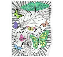 Winged Wonders Poster