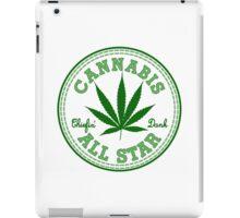 Cannabis All Star iPad Case/Skin