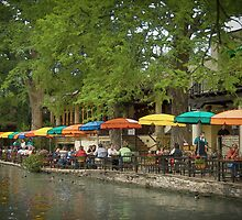 San Antonio TX Riverwalk by Kirk Allemand