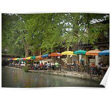 San Antonio TX Riverwalk Poster