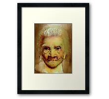 """follow up to """"Grandmother"""" (97 yrs old) Framed Print"""