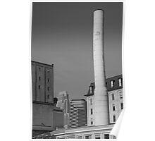 Minneapolis Smokestack Poster