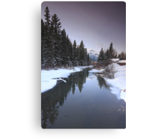 Mounts mirroring Canvas Print