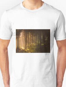 Morning forest Unisex T-Shirt