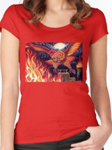 Flight of the Phoenix  Women's Fitted Scoop T-Shirt