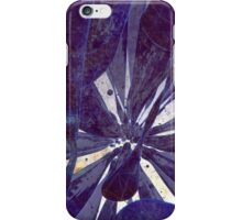 Blue Flow - Abstract CG Render iPhone Case/Skin