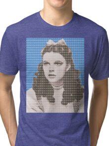 Over the Rainbow Blue Tri-blend T-Shirt