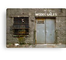 Model Sales - Birmingham, AL Canvas Print