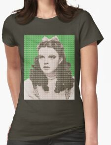 Over the Rainbow Green Womens Fitted T-Shirt