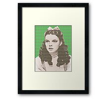 Over the Rainbow Green Framed Print