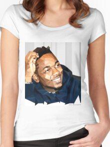 Kendrick Lamar | 2015 | FAN ART |  Women's Fitted Scoop T-Shirt
