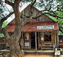 ☝ ☞Luckenbach Texas Post Office(AIN'T NOBODY FEELIN NO PAIN)☝ ☞ by ✿✿ Bonita ✿✿ ђєℓℓσ