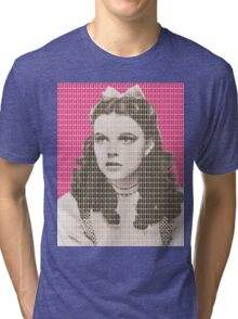 Over the Rainbow Pink Tri-blend T-Shirt