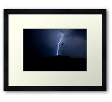 Electricty - Raw & Harnessed Framed Print