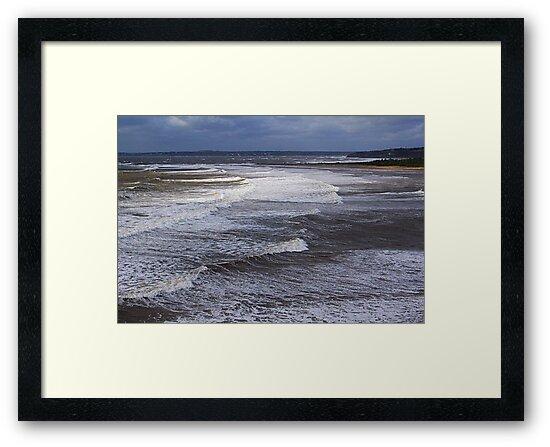 Surf On a Sandy Shore by Jann Ashworth