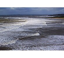 Surf On a Sandy Shore Photographic Print