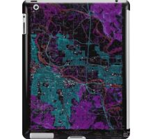 USGS Topo Map Oregon Eugene East 279824 1967 24000 Inverted iPad Case/Skin