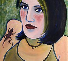 Salamander Woman by Erin Dean Colcord