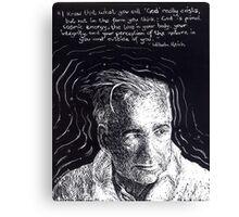 """""""Wilhelm Reich""""- 2010 Canvas Print"""