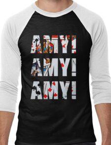 Amy Amy Amy! Men's Baseball ¾ T-Shirt